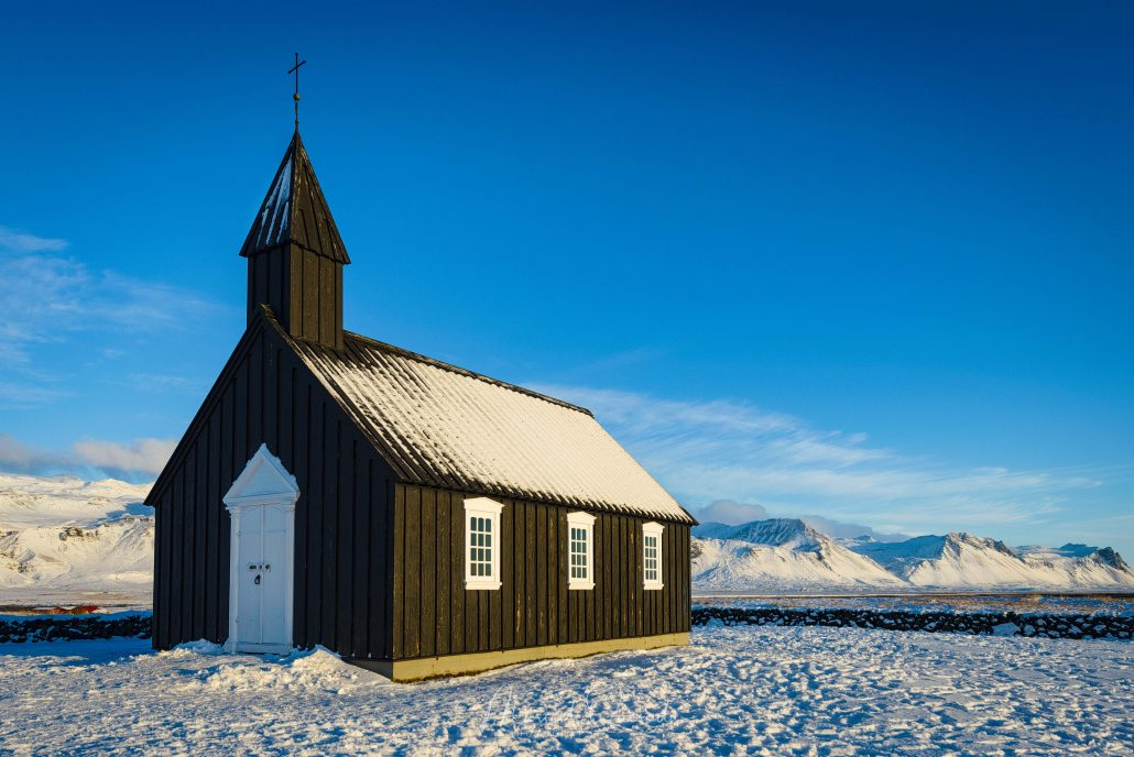 The Black Church of Búðir