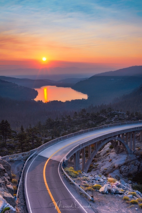Donner Pass Sunrise